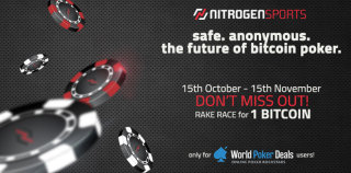 1 BTC Nitrogen Sports private rake race from October 15