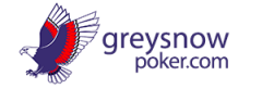 Grey Snow Poker logo