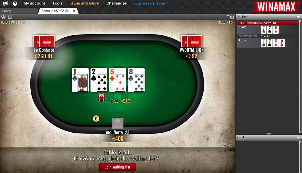 Winamax Vip Deal In Top French Poker Room