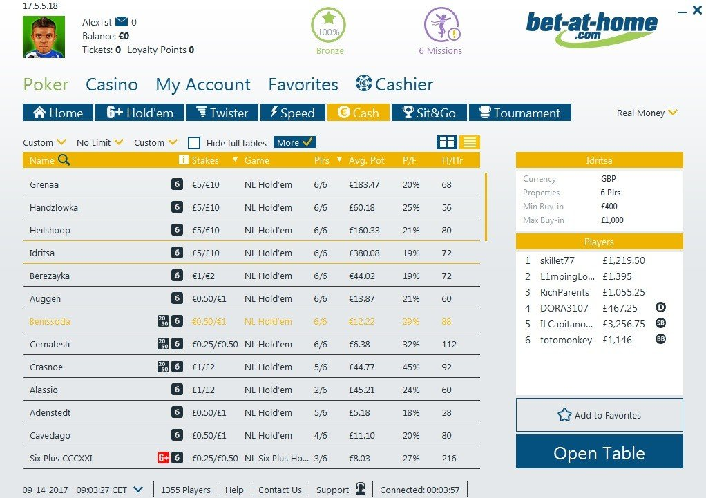 bet at home code