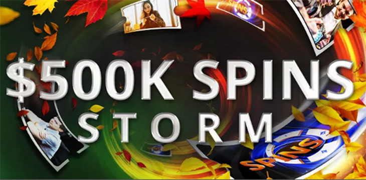 $500k SPINS Storm at partypoker