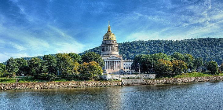 West Virginia became the fifth US state in legalizing online poker