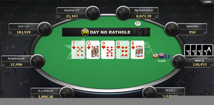 7-Day No Rathole tables — high stakes action in the Winning Network