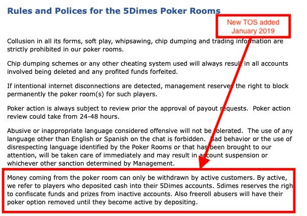 Great controversy: 5Dimes Poker refuses to pay a $54kUSD bad