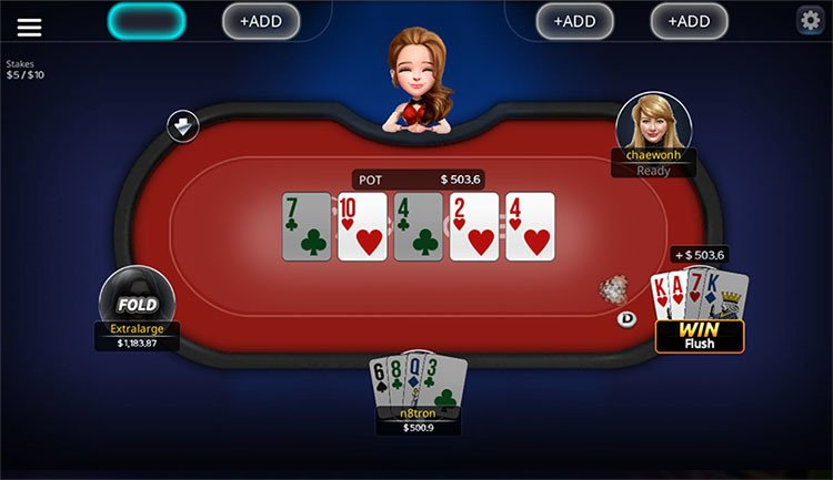 Ace Casino Poker Table