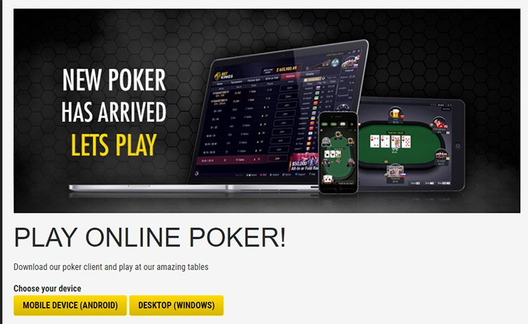 BetKings Poker Download