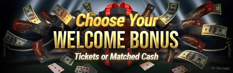 BetKings Poker Welcome Bonus