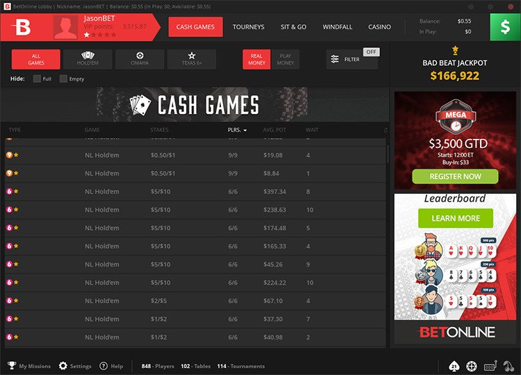 Betonline Poker Review 2020 Trusted Chico Network Room