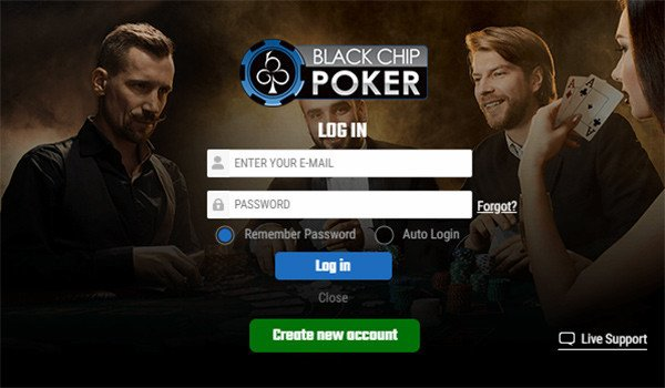 Black Chip Poker New Account