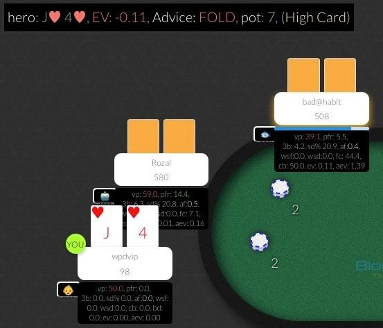 Blockchain Poker HUD