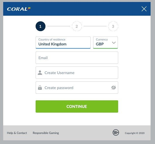 Coral Poker New Account