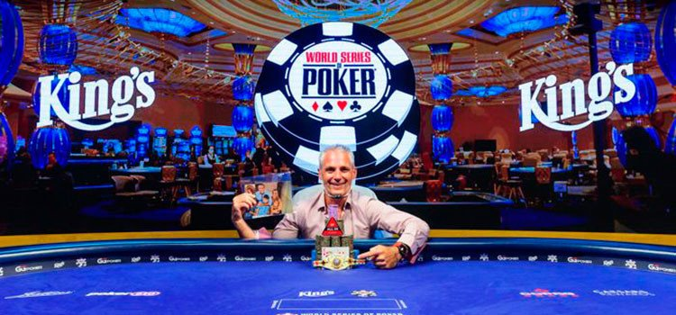 Damian Salas won the WSOP International edition