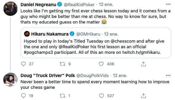 Daniel Negreanu chess lessons