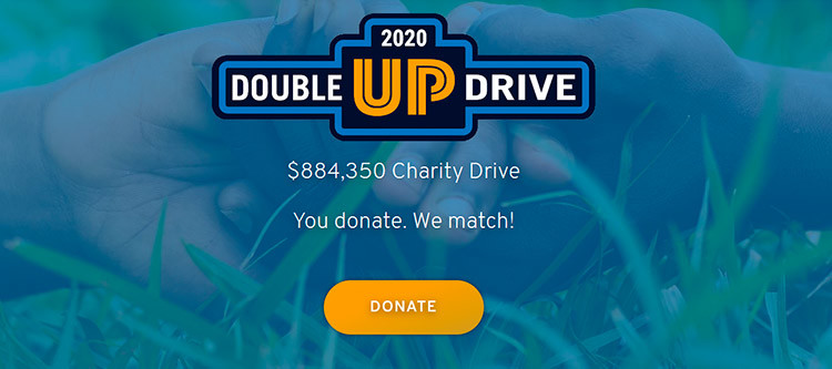 Double up Drive fundraiser