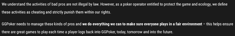 GGPoker Bad Pros