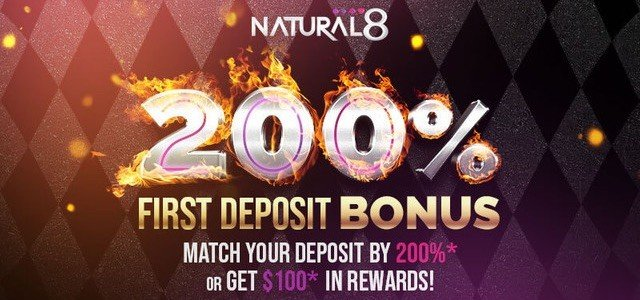 Natural8 First Deposit Bonus