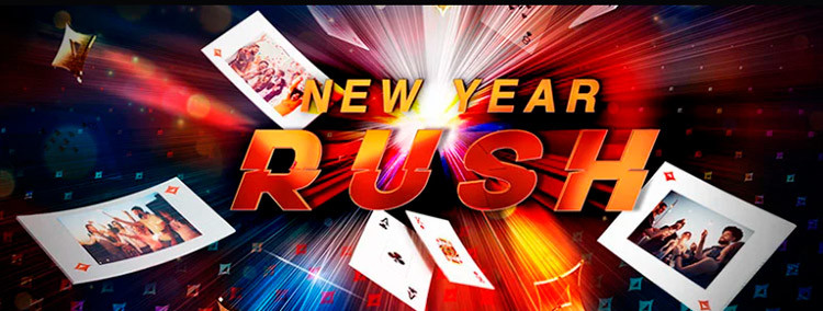 New Year Rush banner