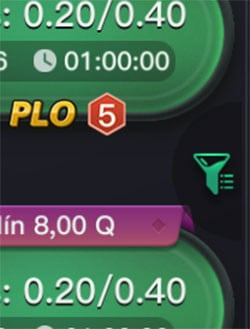 PPPoker Filter