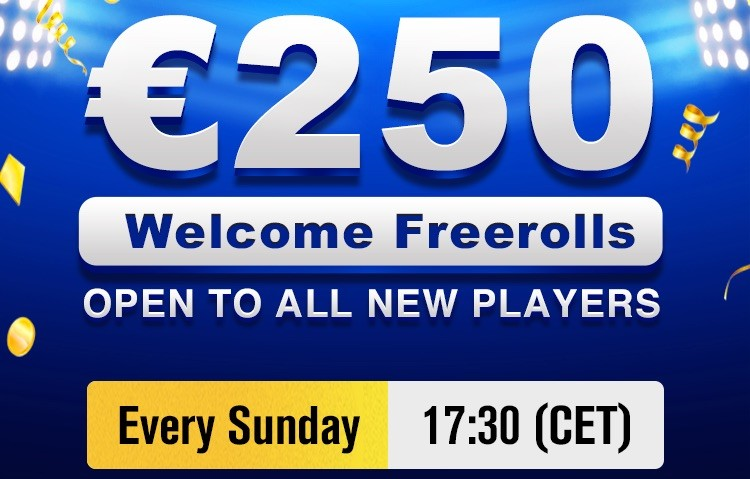 Pokio Welcome Freerolls