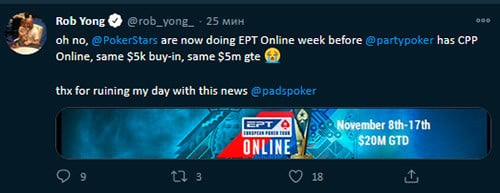 Rob Yong on EPT Online