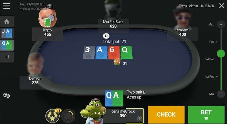 Unibet Poker Mobile App