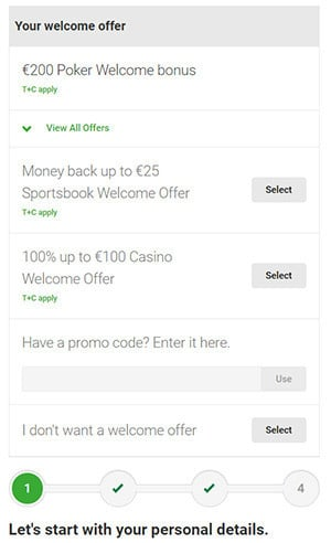 Unibet Poker New Account