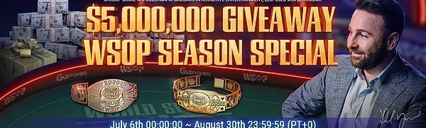 WSOP Online GGNetwork Promotions