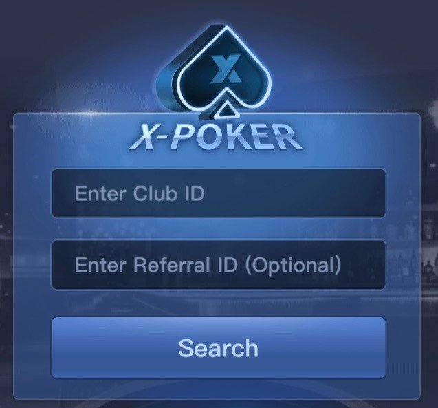 X-Poker join a club