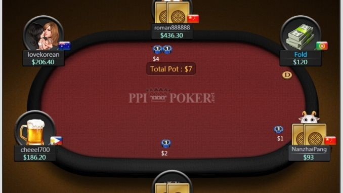PPIpoker table