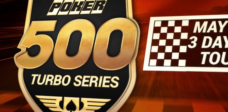 The Indy 500 action reaches online poker with the 500 Turbo Series