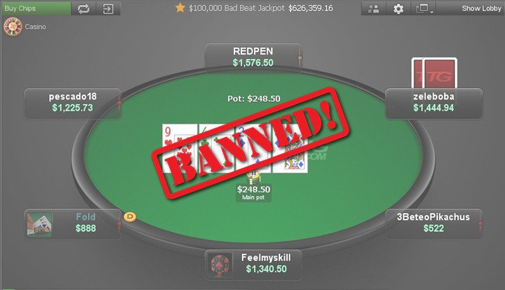 Online poker banned in usa what is the payout ratio on roulette