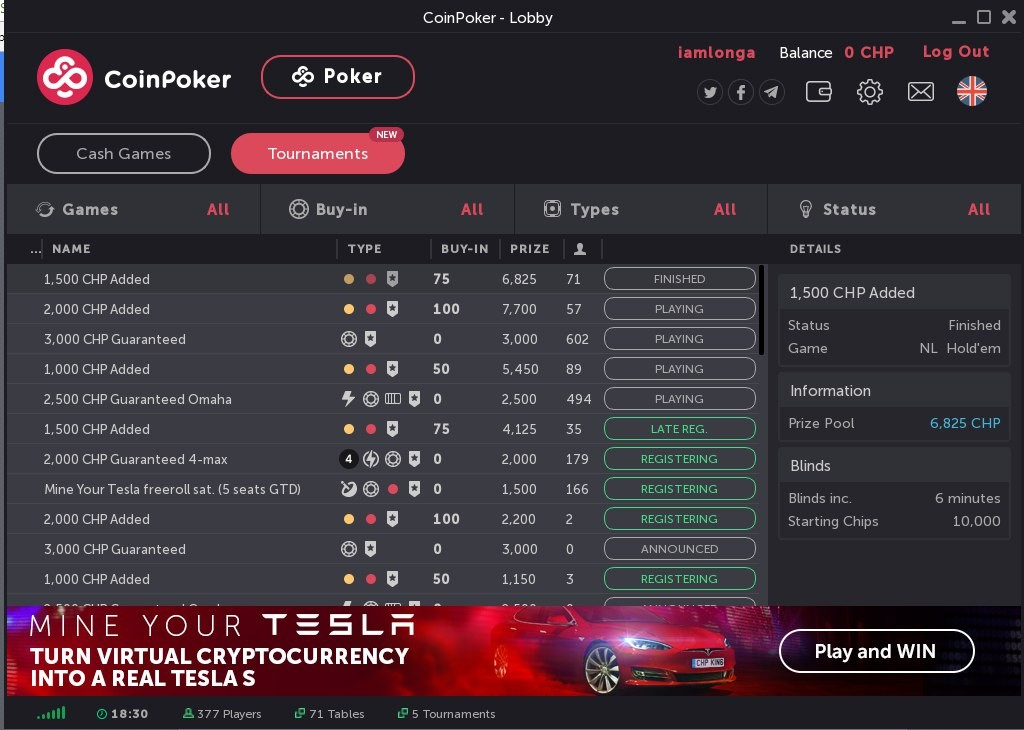 List Of All Poker Rooms Online