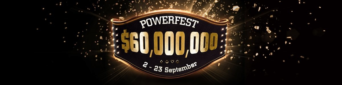 Join the Powerfest action! More than $60MGTD in prizes from PartyPoker