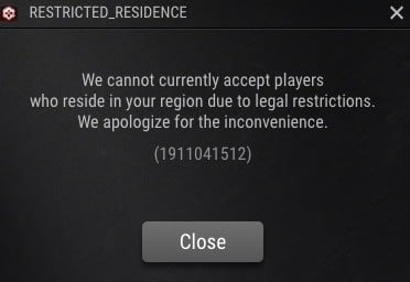 ggpoker restricted residence warning
